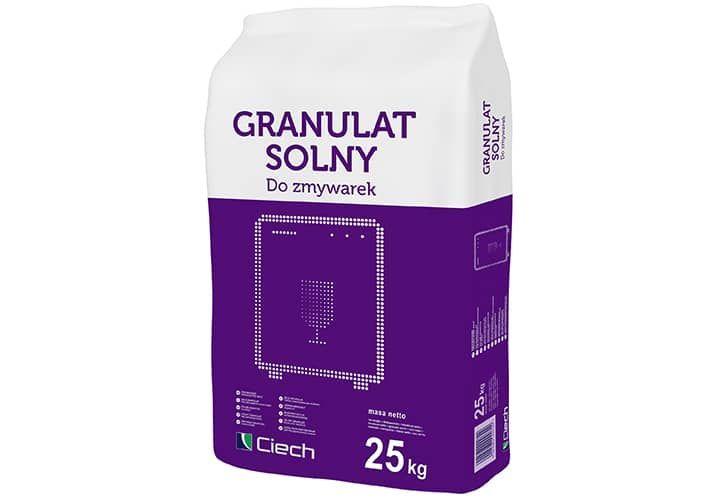 Granulat solny