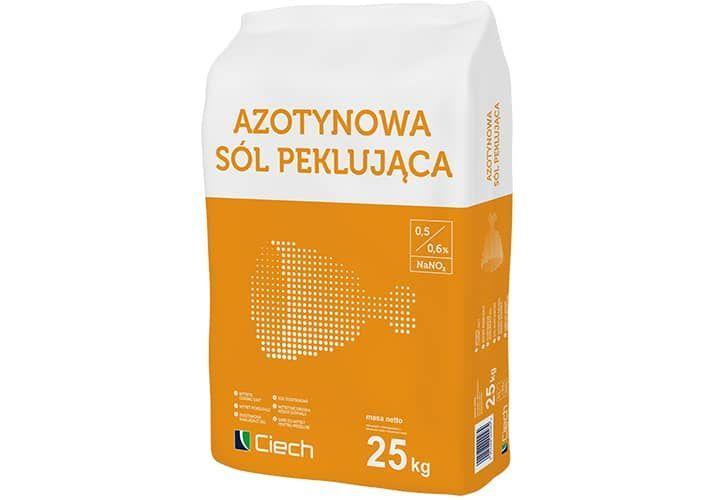Peklosól - azotynowa sól peklująca